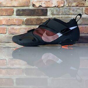Nike Superrep Cycle Womens Size 10 Black Hyper Crimson Indoor Cycle CJ0775 008