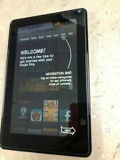 "Amazon Kindle Fire 1st Gen 8GB Wi-Fi Bluetooth 7"" Tablet eReader D01400 ~ RESET"