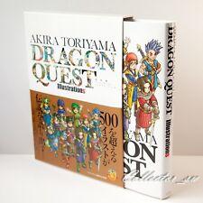 3 - 7 Days Dragon Quest Akira Toriyama Illustrations Hardcover Art Book from JP