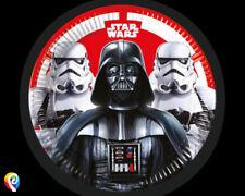 Artículos de fiesta color principal plata cumpleaños infantil, Star Wars