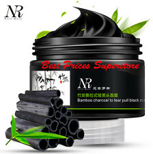 NR Bamboo Charcoal Tear Pull Black Mask Cleansing Blackhead Remover Acne 100g
