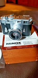 Minox, Gernany,  Miniature Leica M3 Digital Camera in Display Box