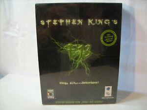 Stephen King,s PC Spiel F 13 Strg. Alt,... Entsetzen unbenutzt