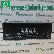 Batteria 12V 2,2Ah LEAD LINCE. Cod. 474LI2-12
