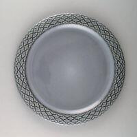 Bing & Grondahl number 624. Set of 10 dinner plates. Grey Cordial Quistgaard