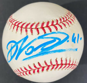 Dirk Nowitzki Signed MLB Baseball Dallas Mavericks HOF NBA Champ 2011 MVP