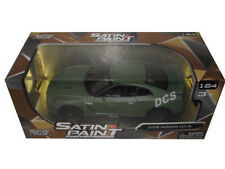 MOTORMAX  2008 NISSAN SKYLINE GT-R 1/24 DIECAST MODEL CAR MATTE GREEN 79506