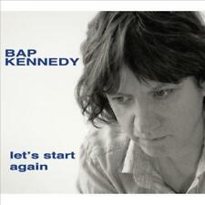 KENNEDY, BAP - LET'S START AGAIN NEW VINYL RECORD