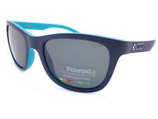 POLAROID Polarized Sunglasses Matte Dark Blue / Grey PLD7008 ZX9