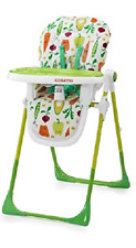 Cosatto Noodle Supa Superfoods Highchair 6 Height Positions 3 Tray Positions NEW