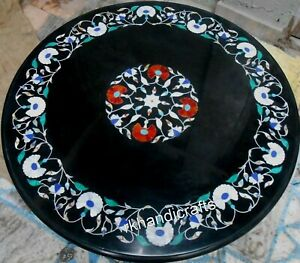 30 Inches Marble Coffee Table Top Elegant Look Sofa table Hand Made from India