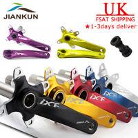 7Colors Aluminum  Single/Double/Triple 170mm 104bcd MTB Bike Chainset Crank set