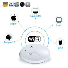 Mini WIFI HD SPY DVR Hidden Camera Smoke Detector Motion Detection Nanny Cam hot