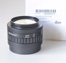 Leica Microscope Objective ErgoLens 0.7x-1.0x 10446317 for Leica S4 S6 Series