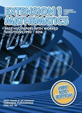 HSC Mathematics Extension 1: 1990 to 2016 Past Papers with Worked Solutions (201