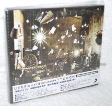 UVERworld TYCOON 2017 Taiwan Ltd 2-CD+44P booklet