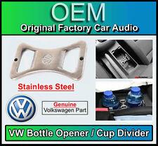 VW Golf Plus Flaschenöffner/Getränkehalter, Original VW Teil, Edelstahl