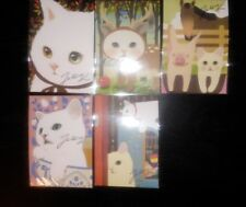 Korean Jetoy Choo Choo Cat Postcard/Invitation/Party Favor/PenPal 5pcs Set 5