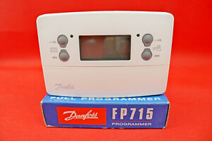 Danfoss FP715 2 Channel Central Heating/Hot Water 7 Day Programmer 087N789800