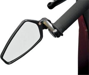 "CRG AO-100 Black Arrow Bar End Mirror Universal 7/8"" Handlebars 06400523 586186"