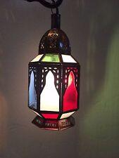 lanterne Lustre photophore marocain jn fer forgé lampe applique bougie bougeoir
