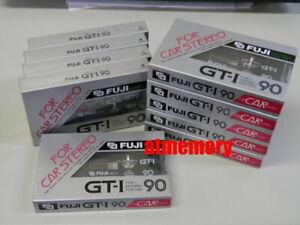 10x Fuji GT-I 90 Cassette Tape Audio Tape Type I Brand New