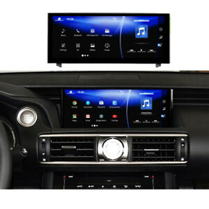 """for Lexus IS250 IS300 IS300H IS350 IS200T 13-18 10.25"""" Android radio gps screen"""