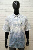 Camicia WRANGLER Uomo Taglia XXL Maglia Chemise Shirt Man Cotone Manica Corta