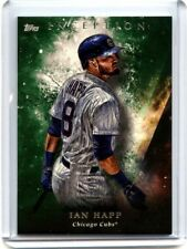2018 Topps Inception Ian Happ Green Base Parallel Chicago Cubs