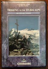 'TREKKING IN THE STUBAI ALPS' Hut-to Hut Walks : by Allan HARTLEY : 2nd Ed. 2003