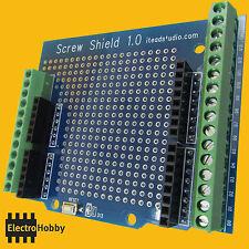 Screw Shield - Arduino ScrewShield UNO y MEGA - Terminales a tornillo