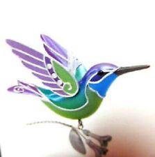 2018~Hallmark~Beauty Of Birds~Hummingbird Surprise~Green/Purple~Rep aint Of 2014