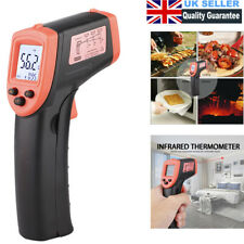 UK Digital Thermometer Infrared Handheld Temperature Gun Non-Contact Laser