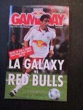 NEW YORK RED BULLS vs LOS ANGLES GALAXY 2007 PROGRAM David Beckham L. DONOVAN