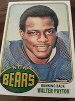 1976 TOPPS Reprint ROOKIE Walter Payton Chicago BEARS Running Back NFL