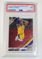 2019 Panini Donruss Optic Lebron James PSA 9 Mint #60 Los Angeles Lakers MVP