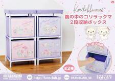 Rilakkuma Two-stage storage box for Korilakkuma in the mirror #A-Pink