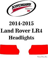 3M Scotchgard Paint Protection Film Clear Bra Pre-Cut Kits 2015 Land Rover LR4