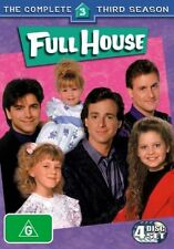 Full House : Season 3 (DVD, 2006, 4-Disc Set) Brand New Sealed Region 4