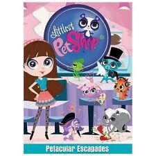 1 CENT DVD Littlest Pet Shop: Petacular Escapades (Animated)
