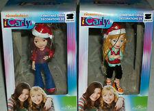 iCarly Xmas Tree Ornament Miranda Cosgrove Jennette McCurdy Sam Kurt Adler gift