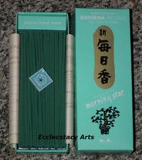 Morning Star Gardenia Incense 200 Sticks Box Nippon Kodo