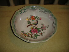 Superb PK Unity Germany Pheasant Bird Bowl-10 Sided Bowl-Floral Patterns-LQQK