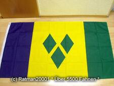 Fahnen Flagge Sankt Vincent - 90 x 150 cm