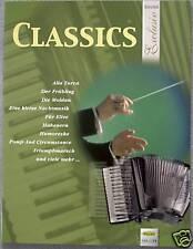 Akkordeon Noten : CLASSICS Exclusiv (Klassik) leichte Mittelstufe - mittelschwer