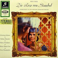 "7"" LEO FALL Die Rose von Stambul MELITTA MUSZELY COLUMBIA Stereo EP 1958 wie NEU"
