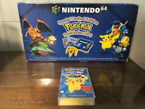 Nintendo 64 Special Edition Pokemon Pokemaniac N64 Australian Exclusive BOX ONLY