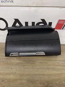 AUDI TT MK1 98-06 8N QUATTRO GLOVE BOX & KEY FOR ROADSTER & COUPE ( SOUL BLACK )