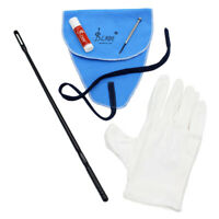 Flute Cleaner Kit Set w/ Cleaning Cloth Stick Cork Grease Screwdriver Gloves