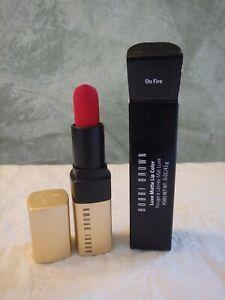 BOBBI BROWN Luxe Matte Lip Color/0.14 oz. Color: On Fire